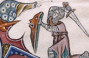 Goreston Psalter: Knight vs Snail